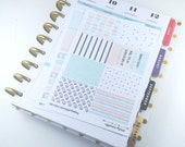 MAMBI 'So Simple' Mini Kit Planner Stickers - For MAMBI Happy Planner