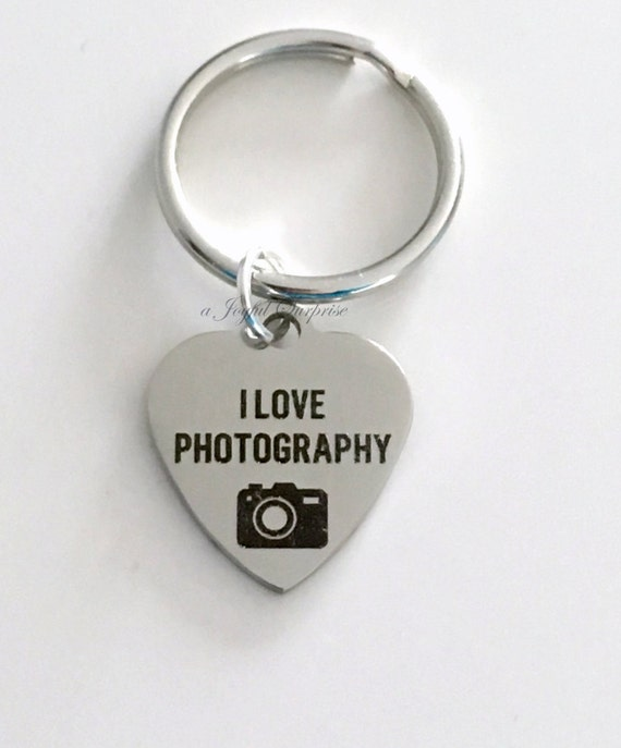 Love Photography KeyChain, Gift for Wedding Photographer Gift for ...