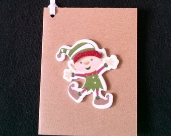 Elf Gift Tags, To From Tag
