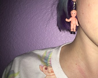 Hitch Hiking Baby Earrings