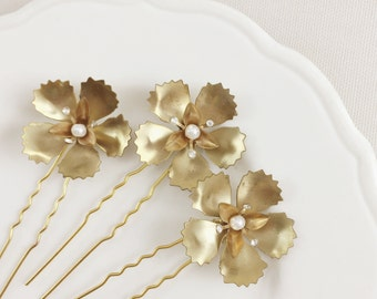 Rosa hair pins - set of 3