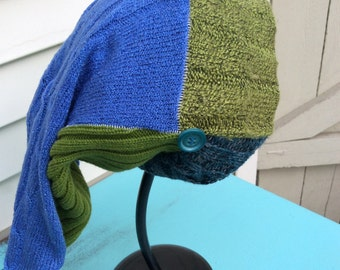 Reversible Slouchy Knit Hat