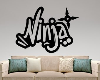 Graffiti Wall Decals Roselawnlutheran - Graffiti custom vinyl stickers