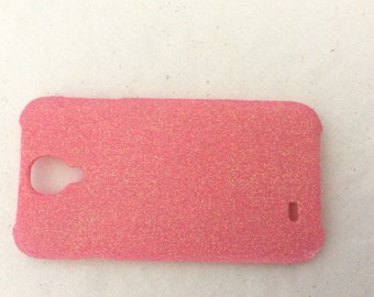 Pink Glitter Cell Phone Case , Cellphone Case , Cell Phone Case , Pink Samsung Case , Pink CellPhone Case