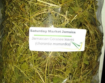 Pure Organic Jamaican Cerasee Leaves