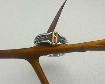 Hagalaz Rune.Hagalaz Rune Ring.Hagalaz Ring.asatru.nordic.Runes and meanings.Rune ring.Runes.vikings.Rune jewelry.elder futhark.Runes ring.
