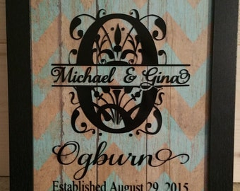 Personalized Picture Frame Regal 8x10