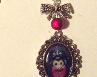 """Necklace """"the little trickster monkey"""""""