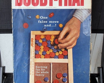 Booby Trap - 1965 Parker Brothers - Wooden Puzzle Game