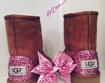 Crystal Ugg boots Infants/Toddlers, Bling Boots, Sparkle Ugg's