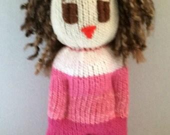 Emily, OOAK soft doll