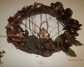 WREATH Cabin in the Woods SALE/ was originally 75.00