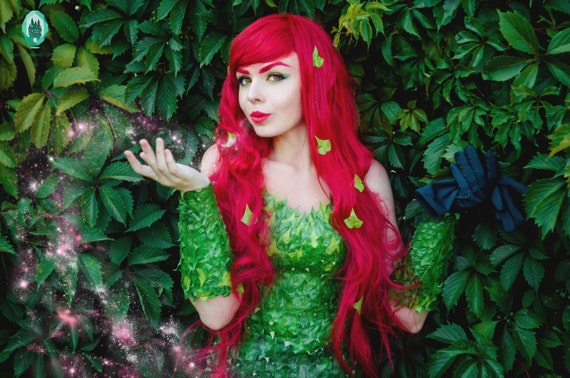 Poison Ivy Batman Comic Costume Poison Ivy cosplay cos...