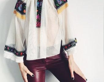 Bohemian vintage blouse
