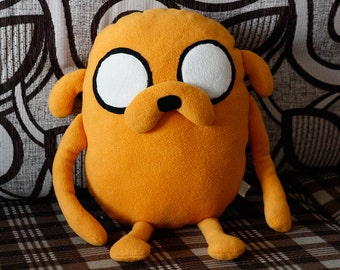 Big plush Jake from adventure time