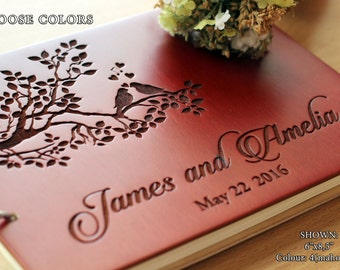 Wedding Guest Book Unique Wedding Guestbooks Rustic Guest Book Tree Wedding Rustic Guestbook Wooden Guest Book Engraved Personalized For You