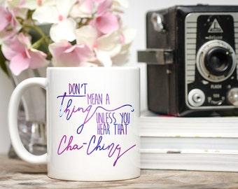 Cha Ching Mug, Small Shop Boss, Boss Lady, Girl Boss, Boss Gift, Small Business Owner, Shop Small Gift, Small Shop Mug, Shop Owner Mug