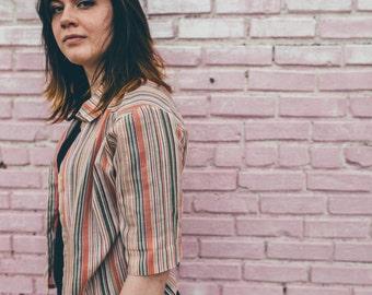 Beeline Fashions pinstripe blouse