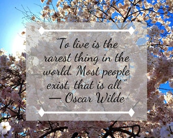 Oscar Wilde Quote about Life