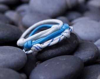 Paracord Bracelets | Ocean | Three Pack