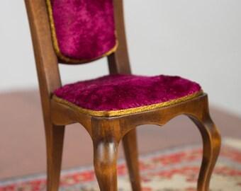 Doll High Chair - Barbie Size Furniture - 1/6 Chair -  12 inch doll