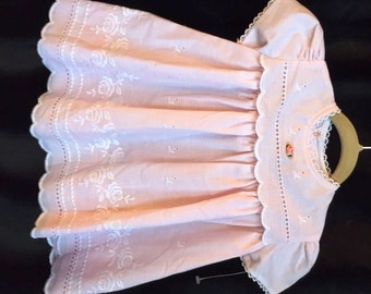 """1980s, Never-worn, """"Nannette"""" Brand, Party Dress with Underskirt, Size 1yr"""
