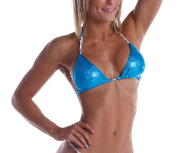 Turquoise 10 Competition Bikini (NPC, IFBB, WBFF)