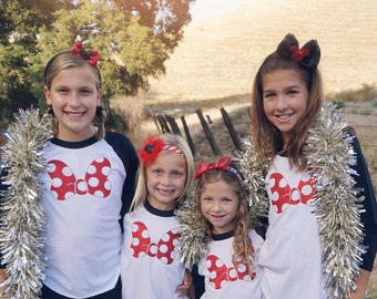 Minnie Mouse shirt, Disney family shirts, Minnie Mouse bow, Disneyland outfit, Minnie Mouse Birthday, Family disney shirts, Minnie Mouse