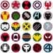Marvel Mini Logos Mega Pack -- PDF PATTERN ONLY