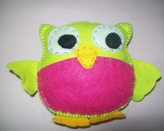 owl felt toy for kids