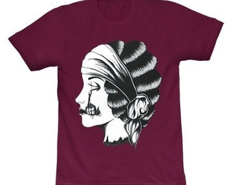 Limited Edition - Zombie Cameo T-Shirt - Maroon