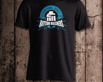 International Society of BUTTON MASHERS | Men's tee | Perfect for a gamer