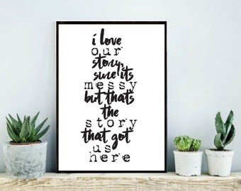 How I met your mother printable quote HIMYM ted mosby quote barney stinson quote How I met your mother print printable quote