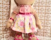 BUNNY TOY  Animal Toy Cute bunny doll rabbit handmade doll  Home decor Bunny Handmade doll  Rabbit Doll Stuffed Animal Toy