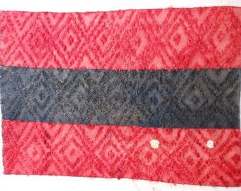 Anatolian kilim rug hand-woven