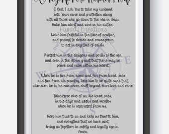 A Prayer for the Mariners Wife