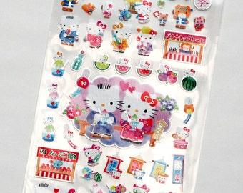 Sanrio Hello Kitty Washi Type Summer Sticker