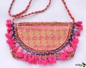 MARAAL CLUTCH- Banjara bag, Banjara Clutch India, Boho Bag, Gypsy Bag