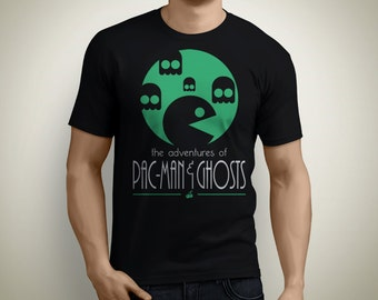 The adventures of Pac-Man and Ghosts - Pac-Man T-Shirt