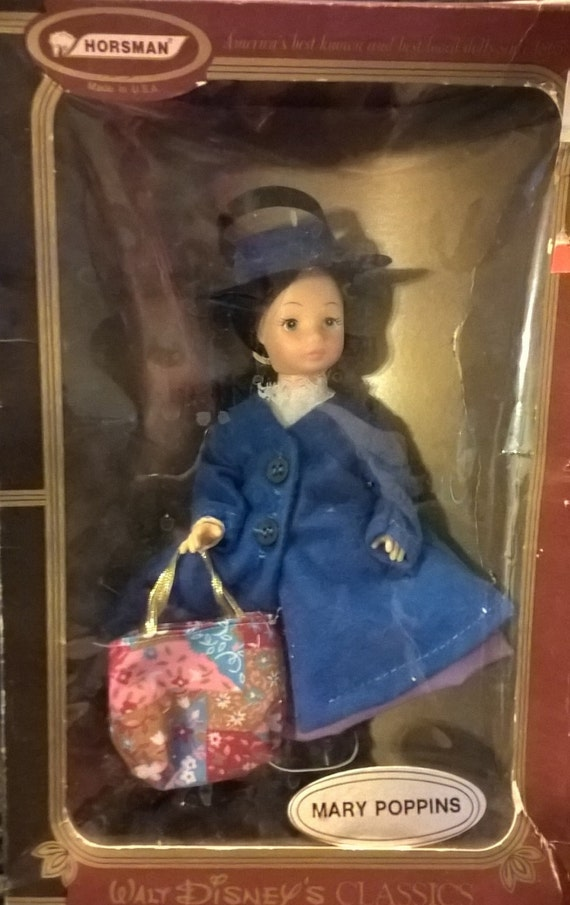 Vintage 1960 S Mary Poppins Doll Mib Walt Disney Classics