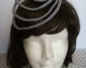 Bibi gray, gray hat, bibi ceremony gray, silver gray hair, bibi glamorous accessory