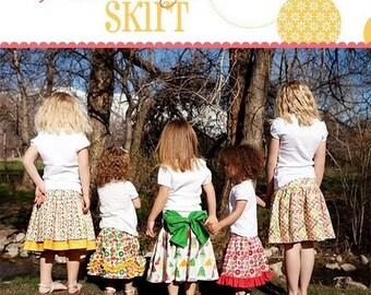 Addie Jo skirt pattern, Izzy & Ivy Designs