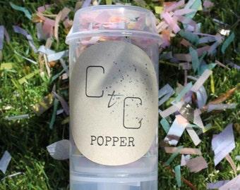 CtC Pastel Confetti Popper x 10