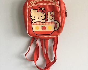 Vintage mini sanrio hello kitty bag backpack