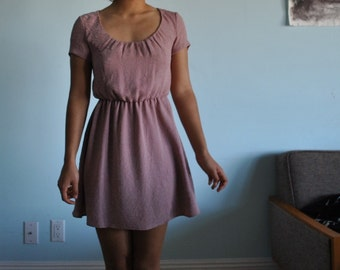 Cute dusty rose size small dress