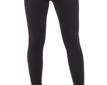 Leggins gym women. Fleece lined leggins for women. Champion fashion leggins. Womens thick black leggins