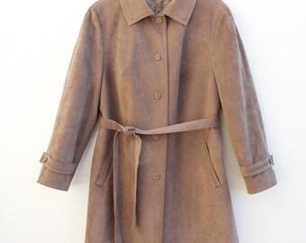 Vintage • Jacket • Women's Jacket • Coat • Women's Coat • Brown Jacket • Women's Brown Jacket • Brown Coat • Women's Brown Coat • 70s Coat