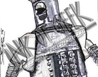 Robot Roll Call Tom Servo MST3K