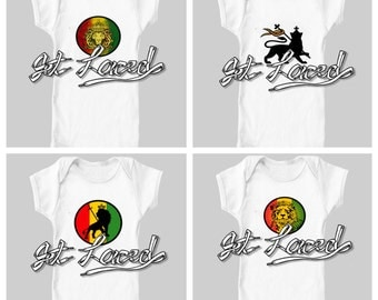 "LION OF JUDAH ~ Custom Design Baby "" Lion Of Judah"" Onesie"
