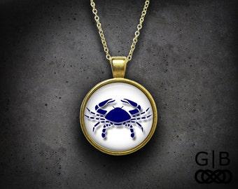 Cancer Necklace Zodiac Cancer Necklace Pendant Jewelry Zodiac Cancer Pendant Zodiac Cancer Jewelry Birthday Gift Cancer Pendant Necklace